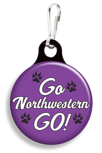 Northwestern Go - Fetch Life Pet Outfitters Dog & Cat Collar Clips