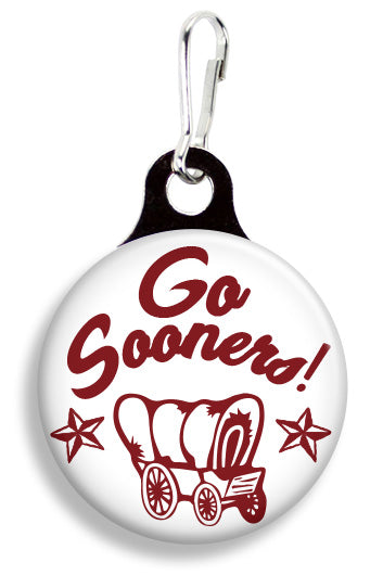 OU Go Sooners - Fetch Life Pet Outfitters Dog & Cat Collar Clips