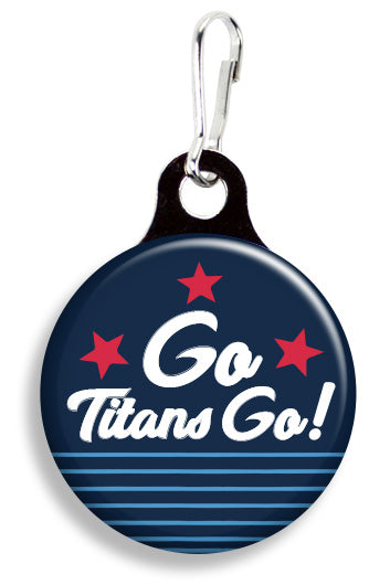 Tennessee Go Titans - Fetch Life Pet Outfitters Dog & Cat Collar Clips
