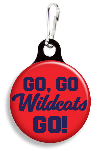 Arizona Go Go Wildcats - Fetch Life Pet Outfitters Dog & Cat Collar Clips