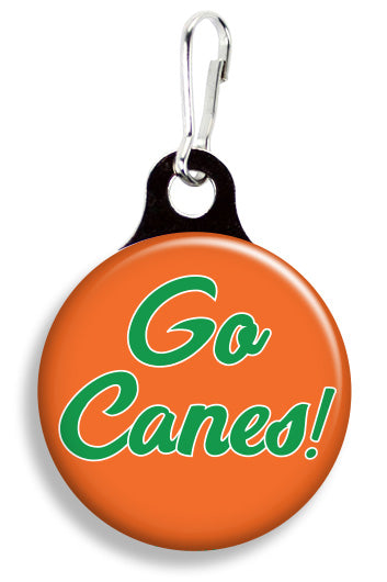 Miami Go Canes - Fetch Life Pet Outfitters Dog & Cat Collar Clips