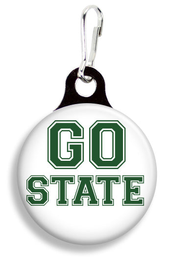 MSU Go State - Fetch Life Pet Outfitters Dog & Cat Collar Clips