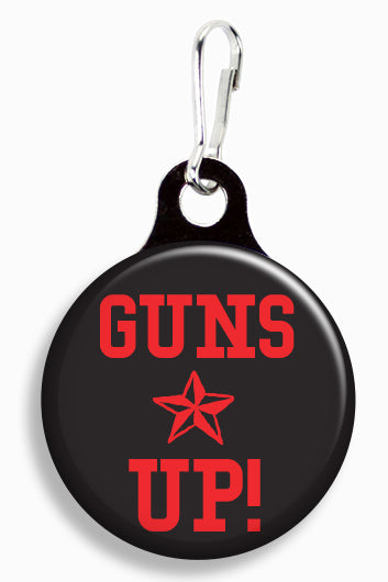Texas Tech Guns Up - Fetch Life Pet Outfitters Dog & Cat Collar Clips