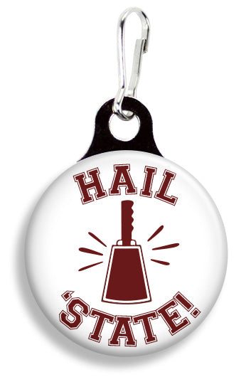 Miss State Hail State Cowbell - Fetch Life Pet Outfitters Dog & Cat Collar Clips