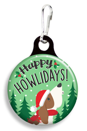 Happy Howlidays - Fetch Life Pet Outfitters Dog & Cat Collar Clips