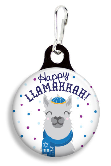 Happy Llamakkah - Fetch Life Pet Outfitters Dog & Cat Collar Clips