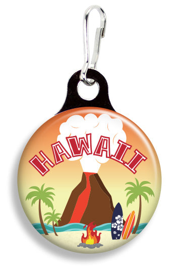 Hawaiian Volcano - Fetch Life Pet Outfitters Dog & Cat Collar Clips