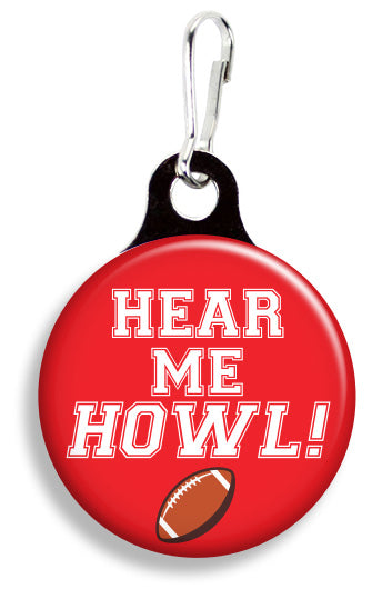 A State Hear Me Howl - Fetch Life Pet Outfitters Dog & Cat Collar Clips