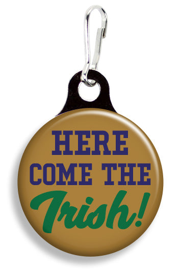 ND Here Come the Irish - Fetch Life Pet Outfitters Dog & Cat Collar Clips