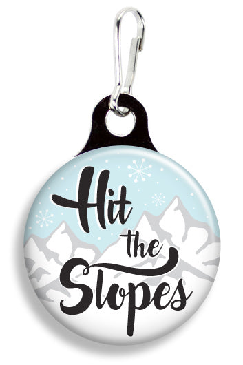 Hit the Slopes - Fetch Life Pet Outfitters Dog & Cat Collar Clips