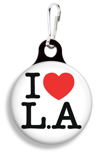 I Love LA - Fetch Life Pet Outfitters Dog & Cat Collar Clips