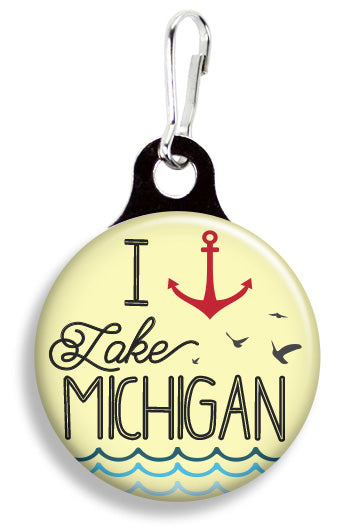 Lake Michigan - Fetch Life Pet Outfitters Dog & Cat Collar Clips