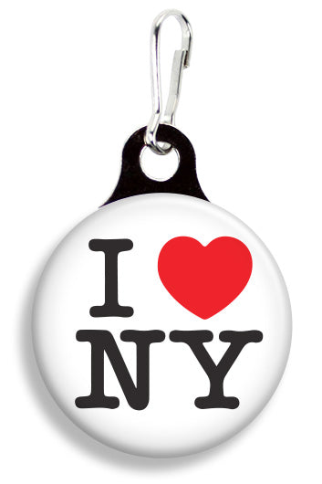 I Love NY - Fetch Life Pet Outfitters Dog & Cat Collar Clips