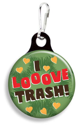 I Love Trash - Fetch Life Pet Outfitters Dog & Cat Collar Clips