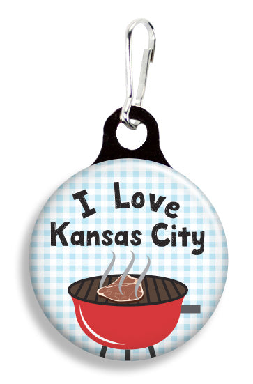I Love Kansas City - Fetch Life Pet Outfitters Dog & Cat Collar Clips