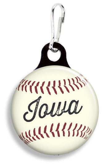 Iowa Baseball - Fetch Life Pet Outfitters Dog & Cat Collar Clips