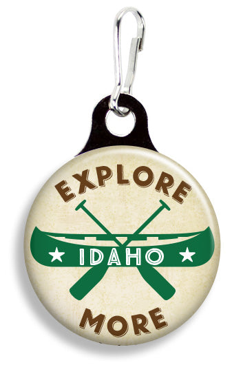Explore More Idaho - Fetch Life Pet Outfitters Dog & Cat Collar Clips