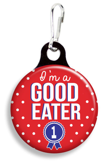 I'm a Good Eater - Fetch Life Pet Outfitters Dog & Cat Collar Clips