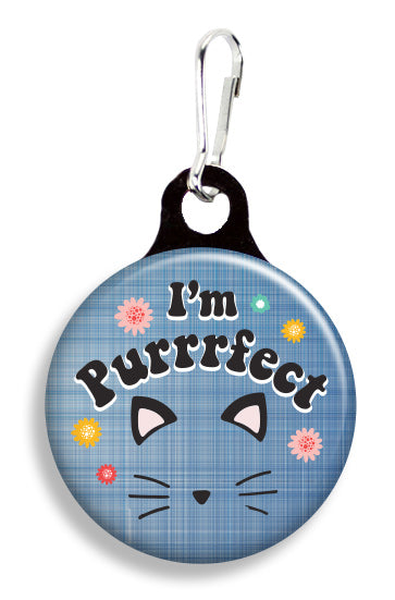 I'm Purrfect - Fetch Life Pet Outfitters Dog & Cat Collar Clips