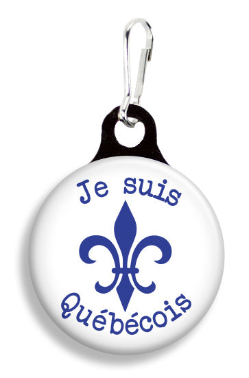 Je Suis Quebecois - Fetch Life Pet Outfitters Dog & Cat Collar Clips
