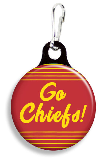 KC Go Chiefs - Fetch Life Pet Outfitters Dog & Cat Collar Clips