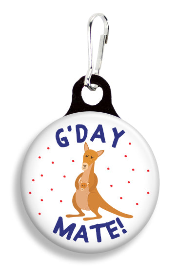 G'Day Mate Kangaroo - Fetch Life Pet Outfitters Dog & Cat Collar Clips
