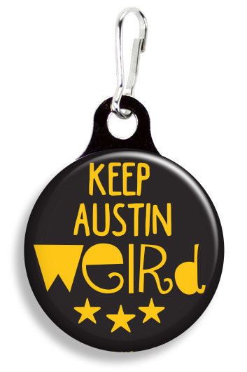 Keep Austin Weird - Fetch Life Pet Outfitters Dog & Cat Collar Clips