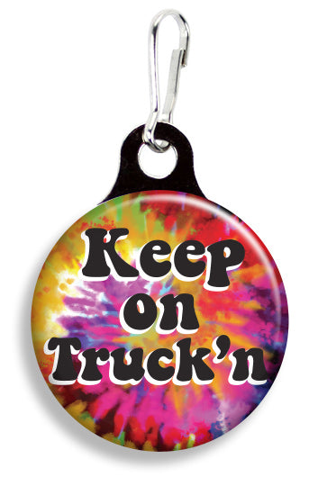 Keep on Truck'n Tie Dye - Fetch Life Pet Outfitters Dog & Cat Collar Clips