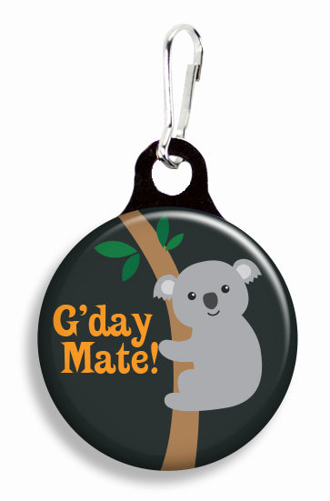 G'Day Mate Koala - Fetch Life Pet Outfitters Dog & Cat Collar Clips