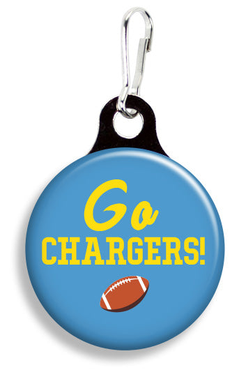 LA Go Chargers - Fetch Life Pet Outfitters Dog & Cat Collar Clips