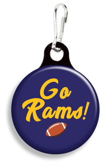 LA Go Rams - Fetch Life Pet Outfitters Dog & Cat Collar Clips