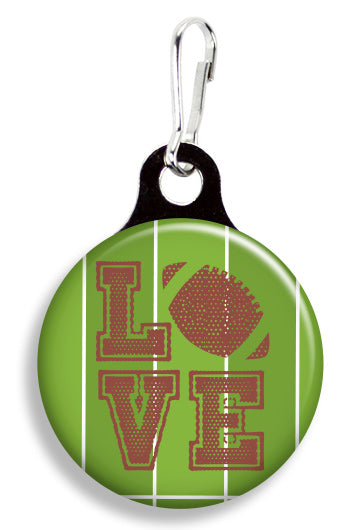 Football Love - Fetch Life Pet Outfitters Dog & Cat Collar Clips