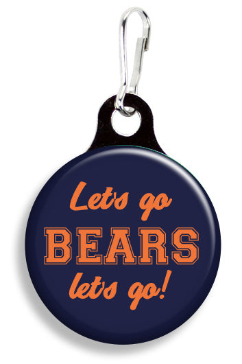 Chicago Let's Go Bears - Fetch Life Pet Outfitters Dog & Cat Collar Clips
