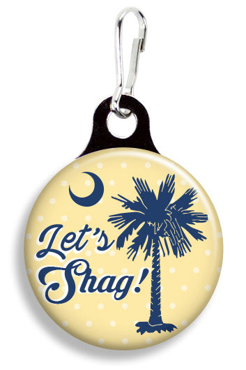 Let's Shag South Carolina - Fetch Life Pet Outfitters Dog & Cat Collar Clips