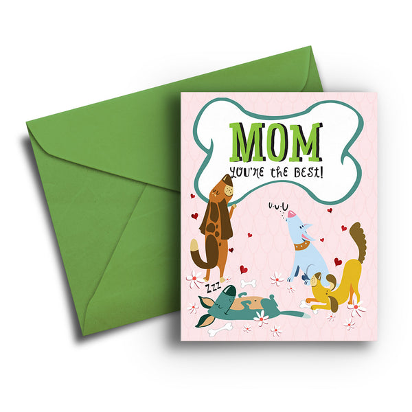 Dog Mother's Day Card - Fetch Life Pet Outfitters Dog & Cat Collar Clips