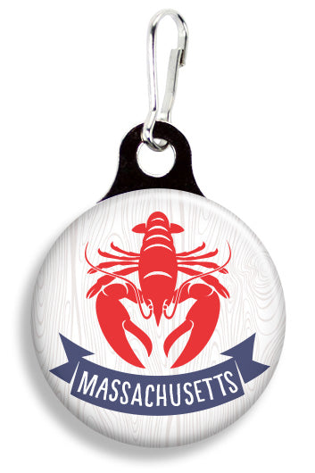 Massachusetts Lobster - Fetch Life Pet Outfitters Dog & Cat Collar Clips