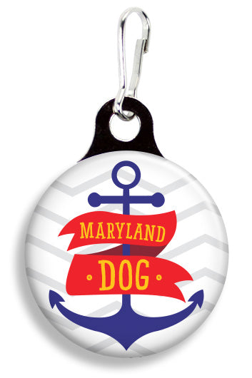 Maryland Anchor - Fetch Life Pet Outfitters Dog & Cat Collar Clips