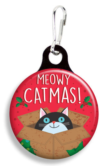 Meowy Catmas - Fetch Life Pet Outfitters Dog & Cat Collar Clips