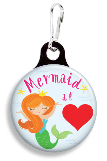 Mermaid at Heart - Fetch Life Pet Outfitters Dog & Cat Collar Clips