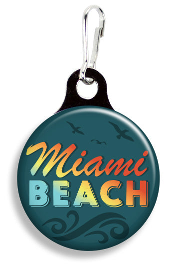 Miami Beach - Fetch Life Pet Outfitters Dog & Cat Collar Clips