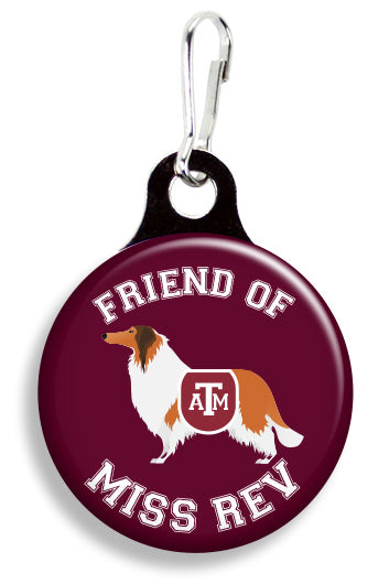 A&M Friend of Miss Rev - Fetch Life Pet Outfitters Dog & Cat Collar Clips