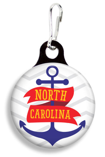 North Carolina Anchor - Fetch Life Pet Outfitters Dog & Cat Collar Clips