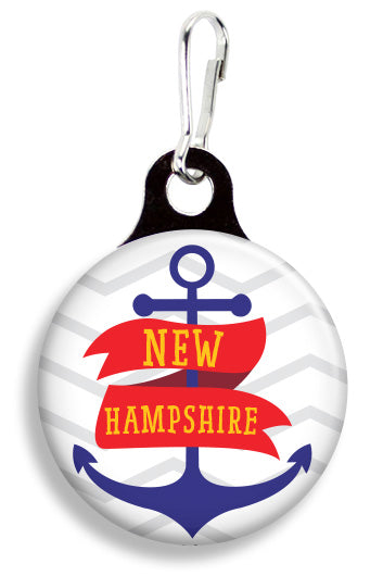 New Hampshire Dog - Fetch Life Pet Outfitters Dog & Cat Collar Clips