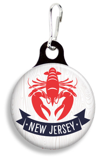 New Jersey Lobster - Fetch Life Pet Outfitters Dog & Cat Collar Clips
