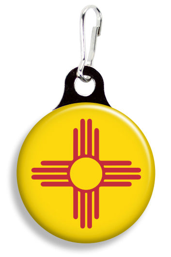New Mexico Flag - Fetch Life Pet Outfitters Dog & Cat Collar Clips