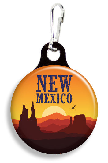New Mexico Sunrise - Fetch Life Pet Outfitters Dog & Cat Collar Clips