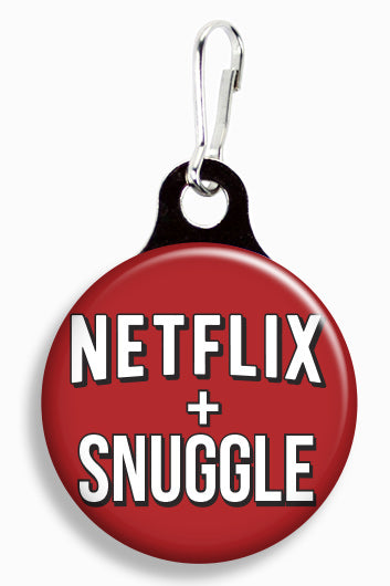 Netflix and Snuggle - Fetch Life Pet Outfitters Dog & Cat Collar Clips