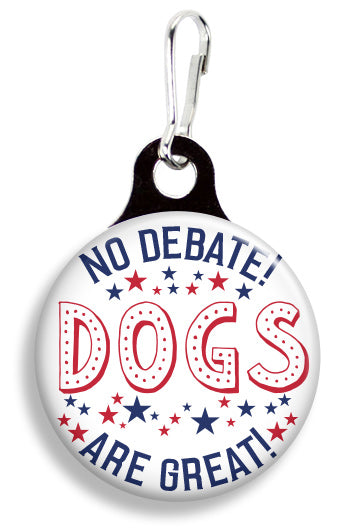 No Debate Dogs - Fetch Life Pet Outfitters Dog & Cat Collar Clips