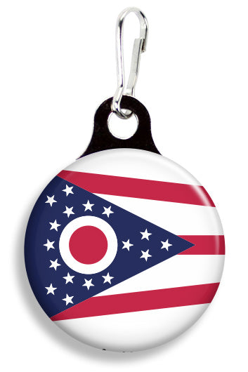 Ohio Flag - Fetch Life Pet Outfitters Dog & Cat Collar Clips