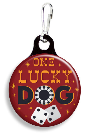 Lucky Las Vegas Dog - Fetch Life Pet Outfitters Dog & Cat Collar Clips